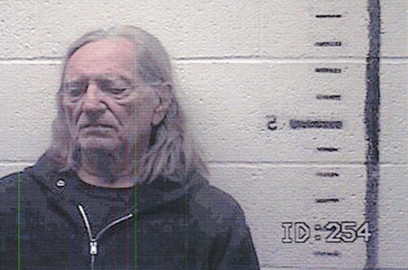 Willie Nelson Arrested After Pot Found on Tour Bus