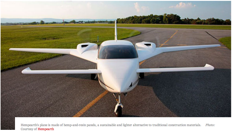 Hemp May Be the Future of Flying